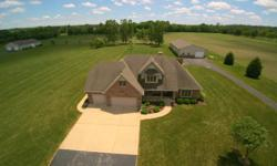 Spacious Rural Home on 3 Acres NOW AVAILABLE in Franklin Township! This 2-Story House has 3 LARGE Bedrooms, 2.5 Bath, and a Great Kitchen with 2 Pantries plus Formal Dining. Master Bedroom is on Main and has Walk-In Closet, Double Sinks, and Window Seat.