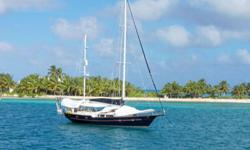 CARIBBEAN STAR has a 3 cabin layout. Simply a beautiful spacious well-equipped blue water sailing yacht that can take you wherever you desire. Complete makeover in 2006. A live-aboard's dream! Roller-reefing genoa w/star logo. New mailsail 2014.