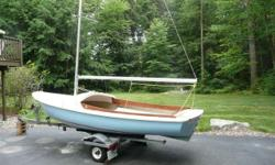 Sailboat - 16' O'Day with trailor and electirc motor. Located in Newmarket, NH near Portsmouth.