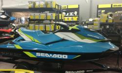 NEW 2015 Sea-Doo GTI SE 130 Personal Watercraft in Maldives Blue & White, stock #2015s. LIMITED TIME SALE PRICE NOW JUST $8995 ONLY AT JIM POTTS MOTOR GROUP IN WOODSTOCK! Its many standard features make this watercraft the most popular for families