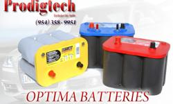 WHY PAY $170 FOR A GEL BATTERY WHEN YOU CAN GET YOURS HERE FOR $125 INCLUDES TAX ....(404)-389-2334 ALL BATTERY BRAND NEW DIRECT FORM FACTORY WHY OPTIMA BATTERY'S ARE THE BEST ON THE MARKET HIGH CRANK AMPS DEEP CYCLE RECHARGE.. THE #1 TRUSTED WITH BOATERS