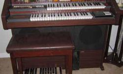 Schafer and Sons Automaestro Organ Bench included