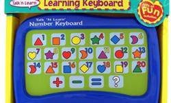 FUN LEARNING ACTIVITIES FOR YOUR CHILDREN! This Learning Keyboard from Scientific Toys® gives children an early start in developing math skills including the numbers 1 thru 20, addition and subtraction skills. Just press any button on the touch screen and