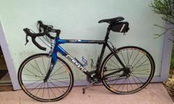 *Large 56 CM Carbon Fiber Frame *Shiamo 105 Gears *Speedplay Pedals