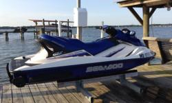 Sea Doo 2002. GTX. 3 Seater 11 feet long Very low hoursless then 50 hrs Excellent condition 410-382-1291 Trailer included Cover included