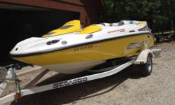 Seadoo Sportster, 2004. 4 stroke engine.  Comes with trailer. Great for skiing and tubing or running about. 4 seats. Sharp and clean. Ready to go.Out of Laurie, MO. Asking $4800.  573-374-8649 or
