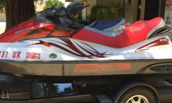 Sea-Doo's GTI 155 less than 100 hours excellent condition New batteries New tires and wheels New covers A must see