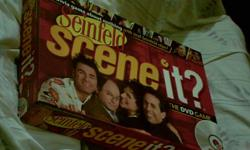 Seinfeld Scene-it DVD game . Brand new condition - the paper wrappers still around card packs . I checked the contents and its' all there . Never played . For everyone who likes games about nothing . $8 cash . Call answering machine at 513-4seven4-4516 /
