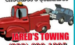TOW SERVICE AT LOW PRICE STARTING AT $60 - UP DEPENDING ON DISTANCE FAST SERVICE/COMPRAMOS CARROS PARA JUNK ( 323 ) 620-1805