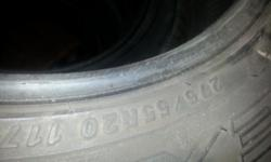 i have all 4 20' tires for sale plenty tread on all four  size 275/55R20
