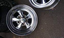 "Nice set of 15"" old style chevy rims 5 hole bolt pattern for sale. Asking $300 . Bobs tire corral in Tempe."