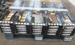 I HAVE 2 GROUPS OF WOOD FLOORING I SET IS 20 CASES OF ALLURE ULTRA VINYL PLANK FLOORINGI IN VINTAGE OAK CINNAMON. EACH BOX COVERS 19.8 sq ft aproximate coverage of all 20 boxes is 396 sq ft home depot carries this if you were to need more at the