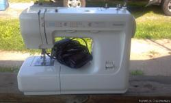 I have a older sears/Kenmore sewing machine that was barley used. I have all the attachments for it, and it comes in a carrying case. If you have any questions feel free to email me! Thanks for looking, Nichole