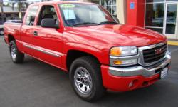 Are you REAL truck lover? Want a capable, proven work truck that you can still fit your family into comfortably? Look no further - this beautiful fire engine red GMC Sierra is your answer! A power v6 4.0 liter engine and standard bed will handle any work