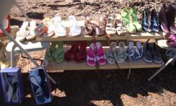 Tons of cute shoes $5 each  For more information call Jen at. or email jhubbard24776@gmail.com or come to the yard sale Fri. Sat. & Sun. 9am til dark @ 708 stallings Rd, Taylors, SC