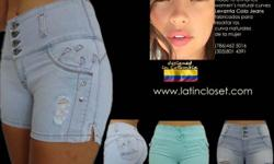 WHOLESALE ONLY. Great fit in soft stretch denim. New styles twice a month. With the Colombian secret to enhance women's natural curves. Shipped from Miami, FL.USA . Minimum order: Only 30 items. Sizes :3-5-7-9-11-13-15 Call us or email for more info: