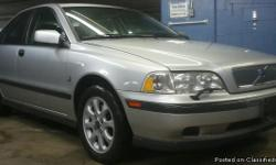 Automatic silver 2000 1.9L Turbo 4-cylinder Volvo S40 with 119k miles. Clean/clear title in hand as well as current emissions! This well maintained S40 not only looks and runs great but is fully loaded with the following options: Options: Heated Leather