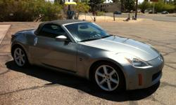Silver 2004 Nissan 350Z Enthusiast Roadster Convertible 2D For Sale. Get your convertible this fall for the perfect drive! Powertrain Specs: Engine: V6, 3.5 Liter Transmission: Manual, 6-Spd Drivetrain: RWD MPG: City 17/Hwy 24 Horsepower: 287 @ 6200 RPM
