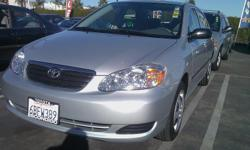 We just got into possession an *immaculate* 2008 Toyota Corolla CE with super low miles! There is still Toyota Warranty left on it! Automatic, power windows, power locks, seating for 5, CD player, stereo, air conditioning, tilt wheel, clean inside and