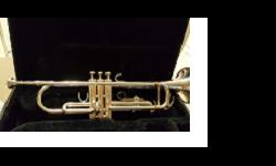 Silver YAMAHA Trumpet - in very good condition. LOCAL INQUIRIES ONLY PLEASE!