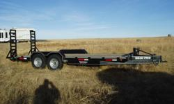 Skid Pro Trailer For Heavy Duty Hauling. Only Used Once To Trasport A Bobcat From Store To House. Very Nice Condition - Like New. Tires Like New.