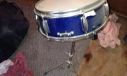 Barely used snare drum & stand $75 for both $50 each separately I have the complete set all in good condition $200 complete set