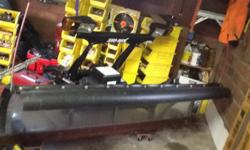 Plow bought new in fall of 2012, never used it that season. Last year only used it four time before I had truck trouble. Bought a new truck and not going to plow this fall. It is a 29hd series, eight foot straight blade with a clear lexan back. Have two