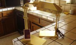 Solid Brass lamps table standing Excel. shape