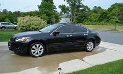 2008 Honda Accord in excellent condition.... 4door automatic transmission are excellent.... Has 126000 Original miles.... engine and transmission are excellent... Leather interior... Naviagtion system... clean title