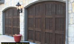 We have factory trained technicians that can fix any broken garage door. We are Frisco Garage Door, and for more than 8 years, we have been helping Frisconians preserve this important part of their property. Let's face it, things can go wrong, even with