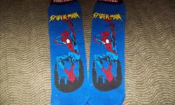 Brand new Marvel Spiderman socks one size fits all-pull up style