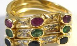 DATA SHEET Age: 1st half of 20th century Metal: Yellow gold Purity: 14 kt - (585/1000) Ring size: US 7 & 1/4 Inside