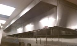 * STAINLESS STEEL WORKS. * STAINLESS STEEL KITCHEN HOOD INSTALLATION. *STEAM HOOD CLEANING  *STAINLESS STEEL FLASHING WALL.  *AIR CONDITIONER.   We can help with everything necessary for the proper functioning of your Restaurant. Call us