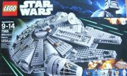 STAR WARS LEGO Millennium Falcon - 7965 NIB! MILLENNIUM FALCON is new and factory sealed! The LEGO Star Wars Millennium Falcon is the ultimate collection for both kids and adults who are Star Wars fans. You can now help Ben Kenobi in his quest
