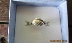 Sterling silverring used $35 firm size 5 1/2 used selling 9am - 6pmno shipping cash only.