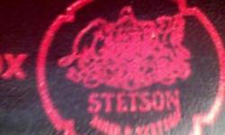 BLACK STETSON COW BOY HAT! LIKE NEW! KEPT N BOX!