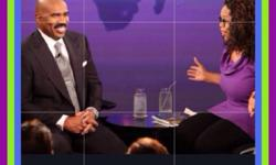 Did you catch Steve Harvey on Oprah's Life Class? He not only talked about the importance of Vision Boards but gave these take-aways...... 1) Know your gift 2) Be clear about your vision 3) Surround yourself with other dreamers & 4) Stop telling your