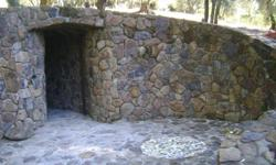 We work within your budget! (just be reasonable) Are you looking to upgrade your house looks with custom stone work? We can help! We're proud to offer you stone retaining wall construction, or any type of stone wall construction in general (we're