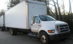 PLEASE READ WHOLE DESCRIPTION! 2004 Ford F650 Super Duty 7.2 L 439 CID L6 Diesel Straight Truck Obviously the best deal for a great truck such as this one. I need a new job and am ready to sell this masterpiece of a truck. Its got 6 new tires newly