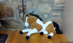 Large stuffed horse in good condition for sale. If interested please email at above or call --