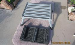"""Folding step 3"""" or 8"""" step height. Sturdy non slip leg tips.( Was $89.00 new)"""