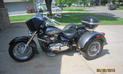 I am selling my 2004 Suzuki Velosia Trike. The Trike has been female driven since purchase in 2014. The bike has a Lehman Conversion. If you do not know about Lehman it is one of the best trike builders. In checking online there is one for sale for