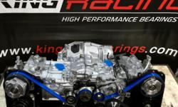 Subaru STI/EJ257 2.5 Turbo Stock rebuilt Long Block Comes with: -New OEM PISTONS -New OEM RINGS -New Bearings (King Bearings or ACL -Can upgrade to race bearings add $100 for rods and mains) -New Water pump -New Genuine Subaru OEM Head Gaskets :(Tomei, JE