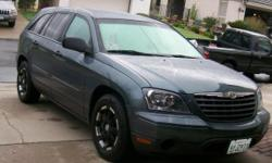 Super Clean 2006 Chrysler Pacifica, $13,799 New tires, Custom wheels, CD, Air, Grey interion, 67,900 Miles