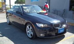 Super clean 2007 BMW 3-SERIES 328-I CONVERTIBLE JUST IN TIME FOR SUMMER! Super clean vehicle with only 56k on the miles loaded with leather 3.0 L6. Easy qualify asking $17k with special finance ask about our down payment assitance contact Darrell