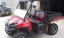 2010 Polaris Ranger XP LE 800 EFI, 4X4, EPS power steering, 1899mi/298hrs-----Good condtion, runs and rides great. 3 passenger full size machine, with belts. Has selectable 2/4wd, fully automatic trans with Hi/Low range, and tilt steering. This one is