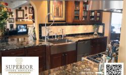 Superior Stone Services is your one stop resource for custom countertops. While our specialty is Natural stone countertop fabrication and installation. We also provide a wide range of other products such as quartz surfaces, stone tiles, sinks and