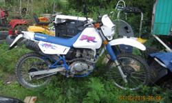 Suzuki DR 125 1000.00 or best offer