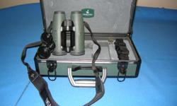 This is a set of glasses that are in mint condition. They have been out of the case only twice and that was just for show. They are 8.5 X 42 (7.4) and come with their own custom carrying case. Everything is just as they left the factory.