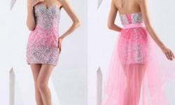 Shining beading and crystal fully embellished the whole dress. Of sweetheart strapless design. Above knee. Graceful strapless design with lace up back.  please visit http://www.naughtysmilefashion.com/ http://www.organiccorsetusa.com|